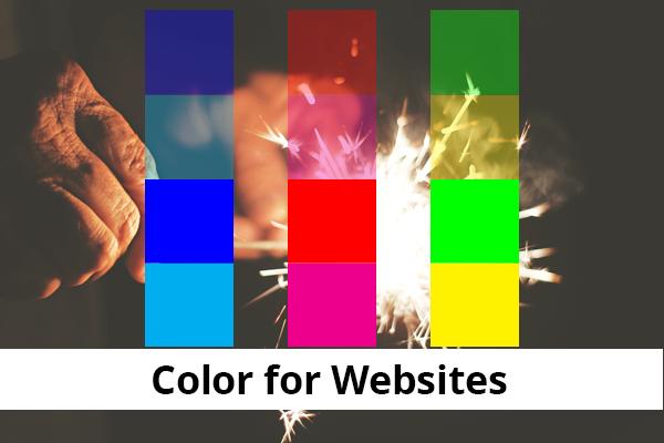 Color for websites