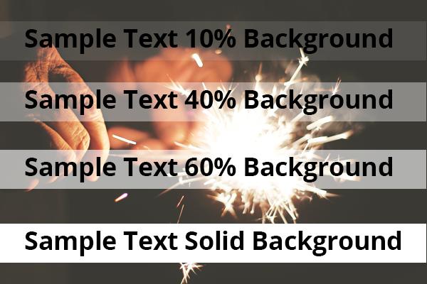 RGBA examples