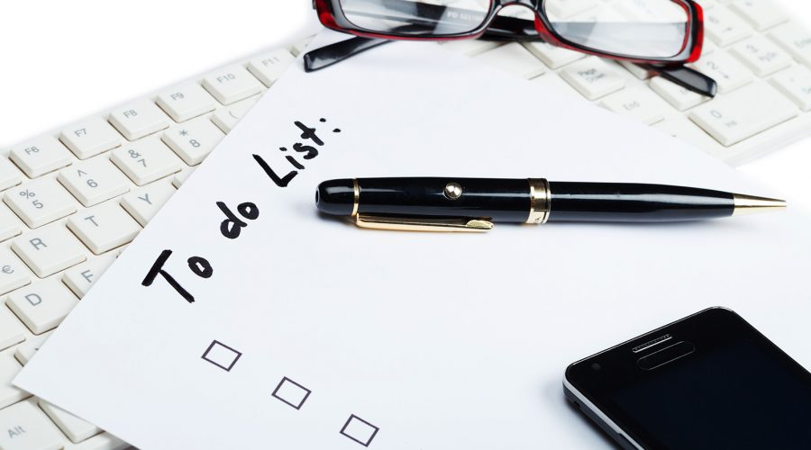 to do list - 5 tasks to keep your site running smoothly